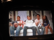 Behind the scenes shoot for AXN Sony Style, World Cup episode (Season 4, Episode 9)