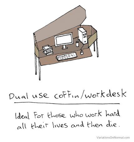 Coffin Desk