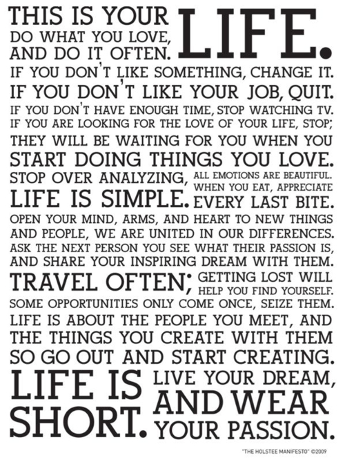 meaningful quotes about life and love_05. This is your life
