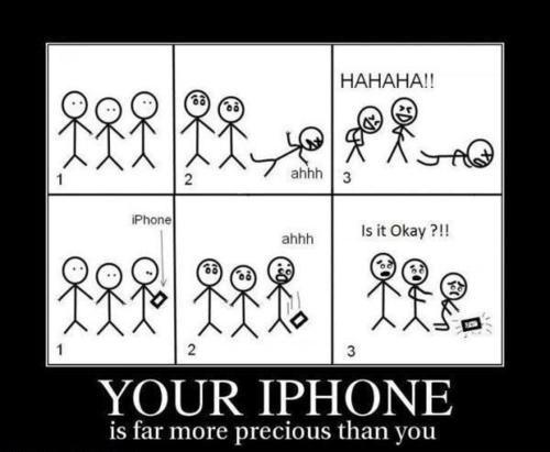 nevermind your soul, is your iPhone ok?